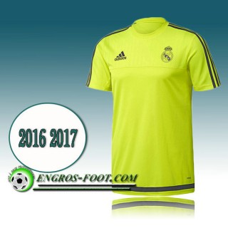 Achetez Maillot de Training Real Madrid Jaune PRE-MATCH 2016 2017