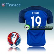 Authentique Maillot Euro 2016 Foot France Domicile - POGBA 19