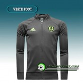 Authentique Veste Foot FC Chelsea Gris 2016 2017