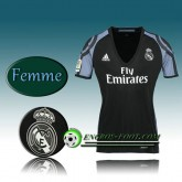 Boutique Maillot de Foot Real Madrid Femme Third 2016 2017 Blanc Paris