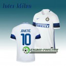 Boutique Maillot de Inter Milan JOVETIC 10 Exterieur 2016 2017 Blanc Paris