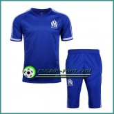Boutique T Shirt Marseille OM Bleu Kit 2016 2017 et Pantalon 3/4 Paris