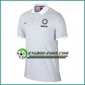 Boutique de Maillot de Polo Inter Milan Blanc 2016 2017