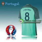 Boutique officielleMaillot Euro 2016 Foot Portugal Exterieur - J.MOUTINHO 8