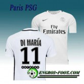Boutique officielleMaillot de Paris PSG DI MARIA 11 Third 2016 2017 Blanc