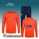 Boutique officielleSurvetement Foot FC Barcelone Enfant Orange 2016 2017