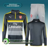 Boutique officielleSurvetement foot Arsenal Noir/Gris 2016 2017