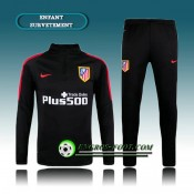 Collection Survetement Enfant Atletico Madrid Noir 2016 2017 Soldes