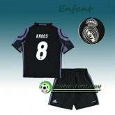Ensemble Maillot Foot Real Madrid Enfant KROOS 8 Third 2016 2017 Blanc Faire une remise