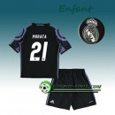 Ensemble Maillot Foot Real Madrid Enfant MORATA 21 Third 2016 2017 Blanc la Vente à Bas Prix