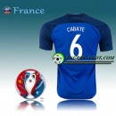 France Maillot Euro 2016 Foot France Domicile - CABAYE 6