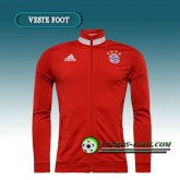France Veste Foot Bayern Munich Rouge Col rond 2016 2017