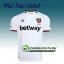 Magasin Maillot de West Ham United Exterieur 2016 2017 Paris