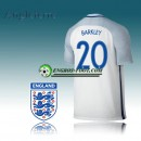 Maillot Equipe Angleterre Domicile 2016 17 - BARKLEY 20 Soldes Provence