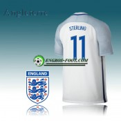 Maillot Equipe Angleterre Domicile 2016-2017 - STERLING 11 Pas Cher Paris