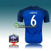 Maillot Equipe de France Domicile 16 17 - CABAYE 6 Boutique France