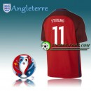 Maillot Euro 2016 Foot Angleterre Exterieur - STERLING 11 Pas Cher Nice