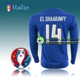 Maillot Euro 2016 Foot Italie Manche Longue Domicile - ELSHAARAWY 14 Soldes Marseille