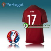 Maillot Euro 2016 Foot Portugal Domicile - NANI 17 Site Officiel France