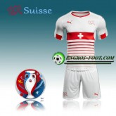 Maillot Euro 2016 Foot Suisse Domicile Boutique France