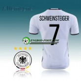 Maillot Foot Equipe de Allemagne Domicile 16 17 - SCHWEINSTEIGER 7 Lyon