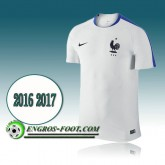 Maillot Training Equipe de France Blanc PRE-MATCH 2016 2017 en Promo