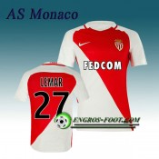 Maillot de AS Monaco LEMAR 27 Domicile 2016 2017 Rouge/Blanc France Métropolitaine