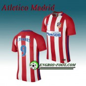 Maillot de Atletico Madrid F.TORRES 9 Domicile 2016 2017 Rouge/Blanc France Magasin