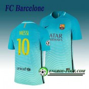 Maillot de Barcelone FC MESSI 10 Third 2016 2017 Bleu Boutique
