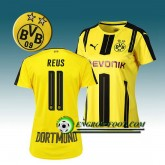 Maillot de Foot Dortmund BVB Femme REUS 11 Domicile 2016 2017 Jaune Site Officiel France
