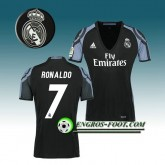 Maillot de Foot Real Madrid Femme RONALDO 7 Third 2016 2017 Blanc Site Officiel