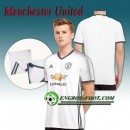 Maillot de Manchester United FC Third 2016 2017 Blanc Magasin Paris