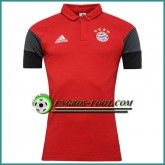 Maillot de Polo Bayern Munich Rouge 2016 2017 Promotions