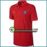 Maillot de Polo Paris PSG Rouge 2016 2017 Promos
