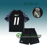Nouveau Ensemble Maillot Foot Real Madrid Enfant BALE 11 Third 2016 2017 Blanc
