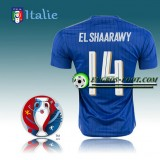 Nouvelle Collection Maillot Euro 2016 Foot Italie Domicile - ELSHAARAWY 14