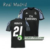 Nouvelle Collection Maillot de Real Madrid MORATA 21 Third 2016 2017 Noir