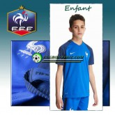 Original Maillot de Foot Enfant France Domicile 16 17