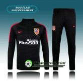 Promotions Survetement Foot Atletico Madrid Noir 2015 2016