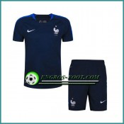 Promotions T Shirt France Bleu Marine Kit 2016 2017 et Shorts