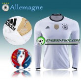 Soldes Maillot Euro 2016 Foot Allemagne Manche Longue Domicile