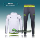 Survetement Enfant Real Madrid Blanc 2016 2017 Bonnes Affaires