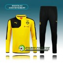 Survetement Foot Dortmund BVB Jaune (02) 2015 2016 France Magasin