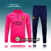 Survetement Foot FC Barcelone Rose 2015 2016 Pas Cher Nice