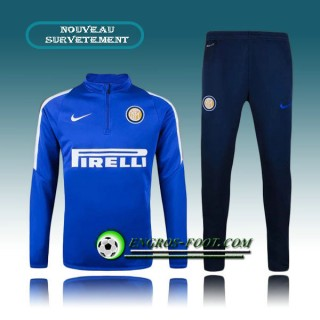 Survetement Foot Inter Milan Bleue 2015 2016 Paris Boutique