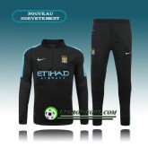 Survetement Foot Manchester City Noir 2015 2016 Rabais Paris