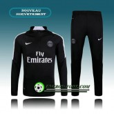 Survetement Foot Paris PSG Noir 2015 2016 Boutique