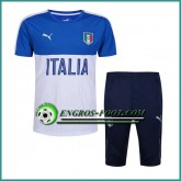 T Shirt Italie Bleu/Blanc Kit 2016 2017 et Pantalon 3/4 France Magasin