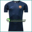 Training T Shirt FC Barcelone Bleu Marine 2016 2017 Réduction