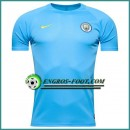 Training T Shirt Manchester City Bleu 2016 2017 Commerce De Gros